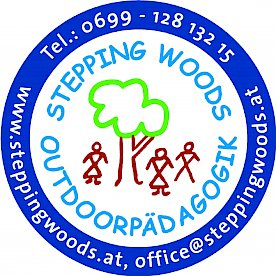 Logo Stepping Woods